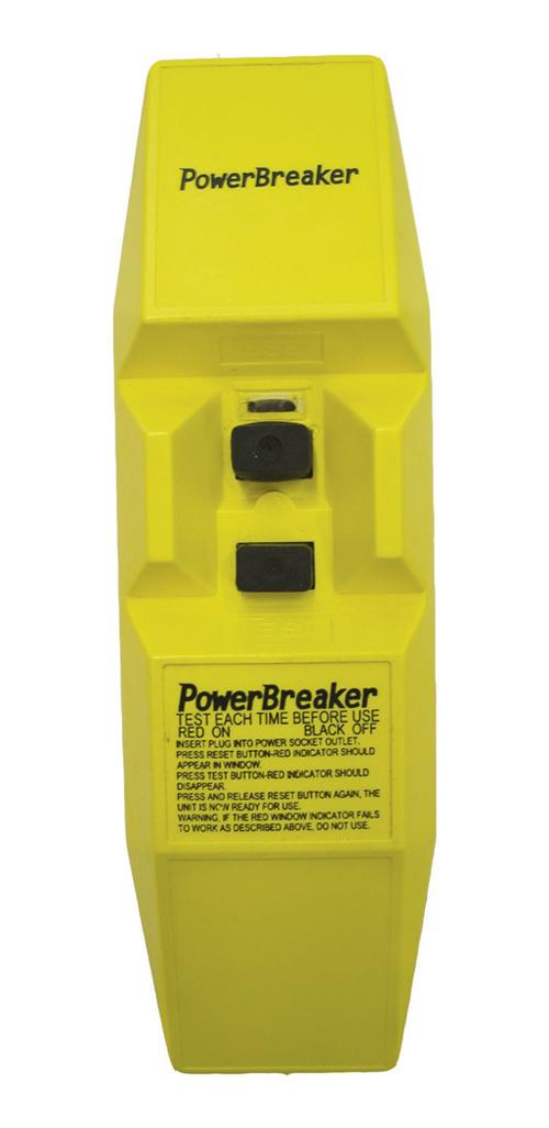 PowerBreaker Heavy Duty In Line RCD- 110V- 110V AC 50Hz