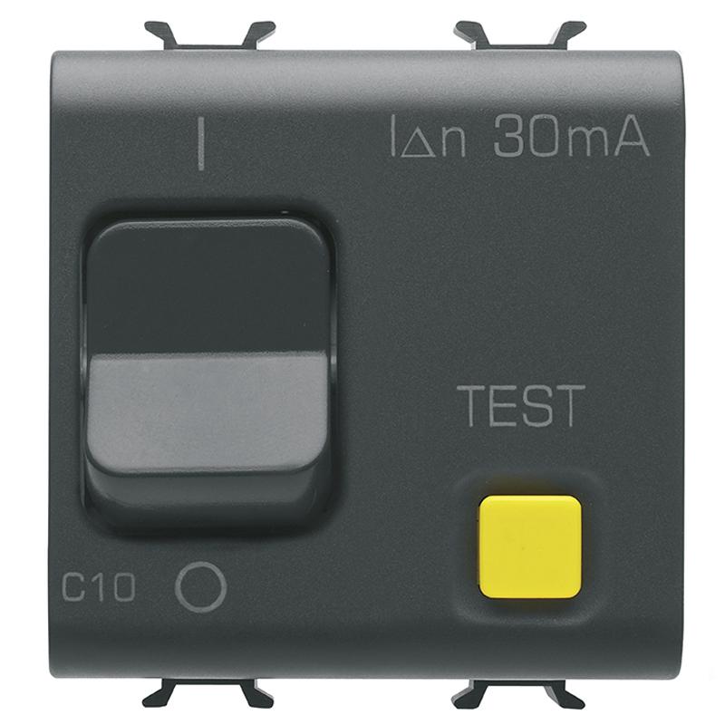 RCBO 1P+N C10 30mA 230V ac 3KA B.