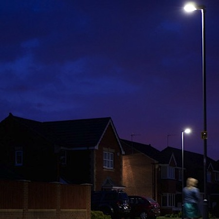 (Thorn Lighting u0026&; Durham County Council) & Thorn supplies LED street lighting for Durham County