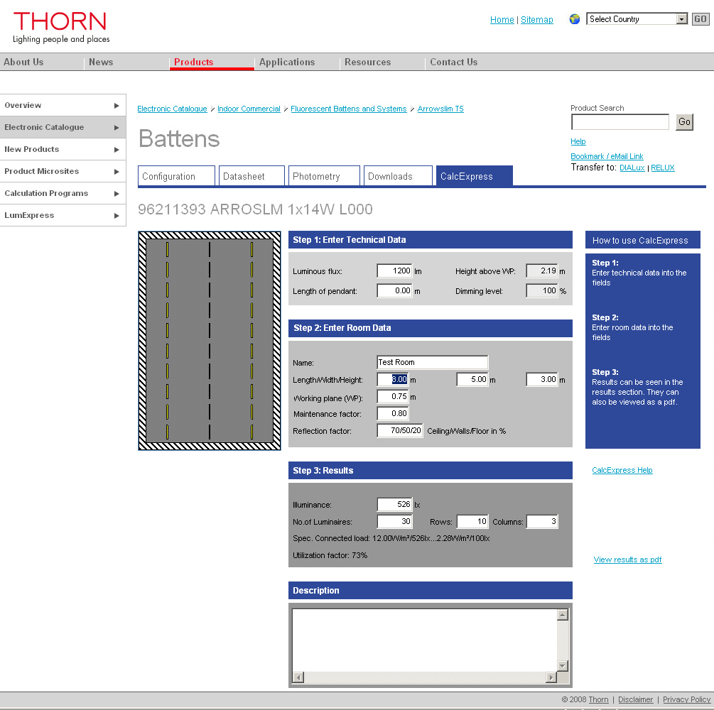 lighting schemes. Thorn\u0027s Online Software Enables Contractors To Design Lighting Schemes 1 .