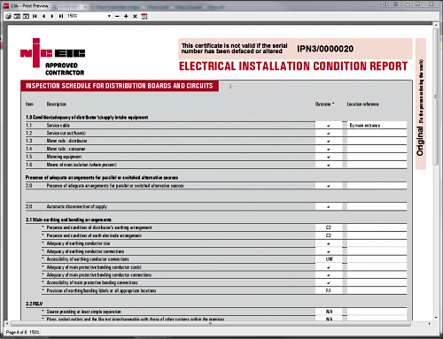 q a of the day what code for the eicr on rcd rh voltimum co uk
