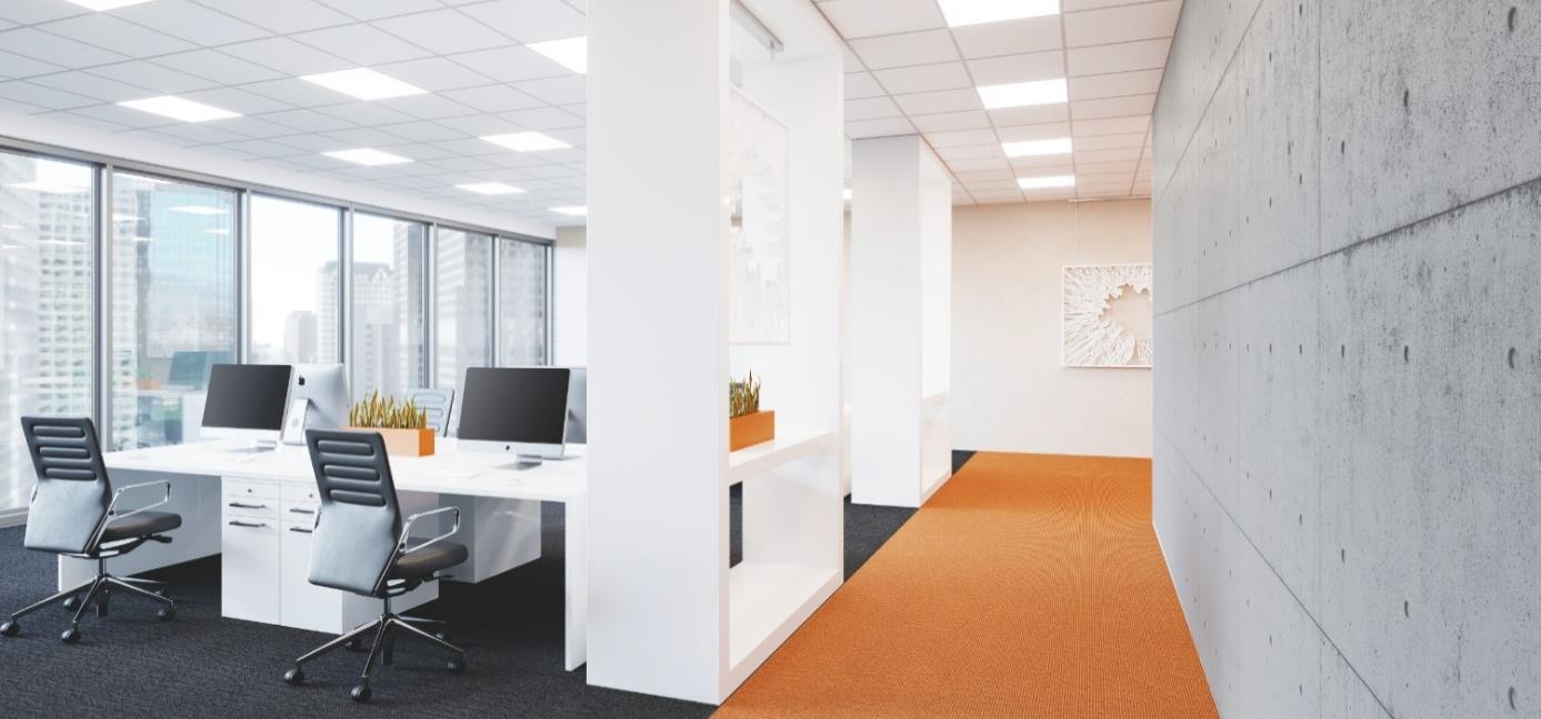 Modern office lighting Commercial Office Modern Office Lighting Solutions The New Variety Of Led Ceiling Luminaires Shopflossy Modern Office Lighting Solutions The New Variety Of