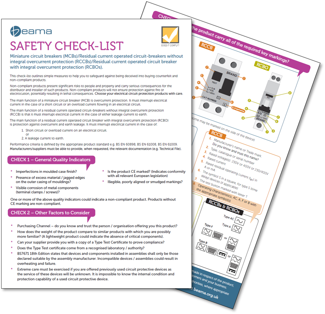 Technique Blog Page 15 Of 45 Learning Solutions Iet Wiring Regs Books Beama Publishes Safety Check List For Circuit Protection Products 1