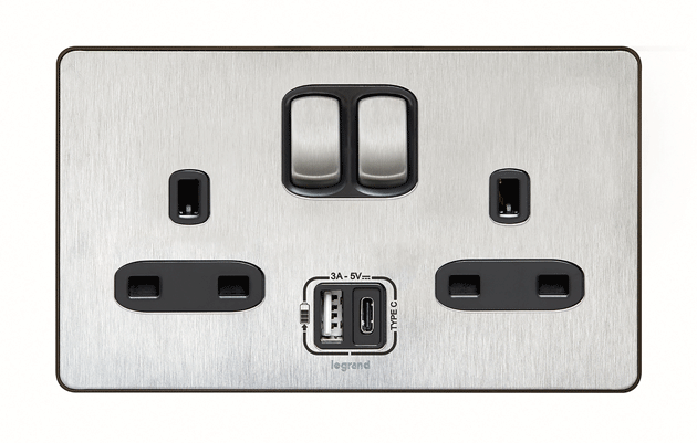 Miraculous Legrand Premieres 13A Socket With Integrated Usb Type C Wiring Digital Resources Funapmognl