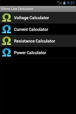 Ohms Law Calculator App | Voltimum UK