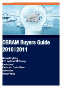 OSRAM - Product Catalogue - Buyers Guide 2010 | 2011 |