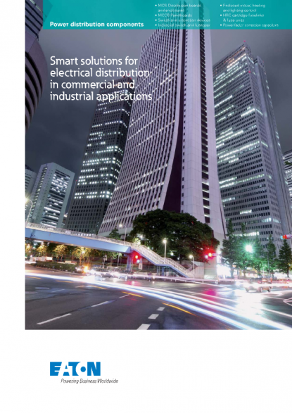 Eaton - Smart Solutions for Electrical Distribution in on