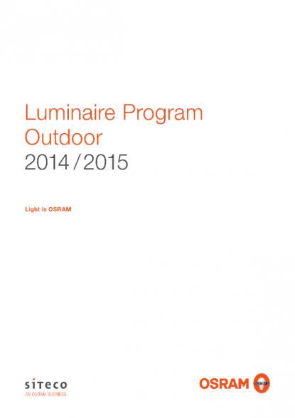 OSRAM - Product Catalogue - Luminaire Program Outdoor on