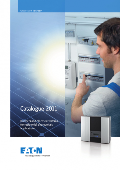 Eaton - Catalogue 2011: Inverters and Electrical